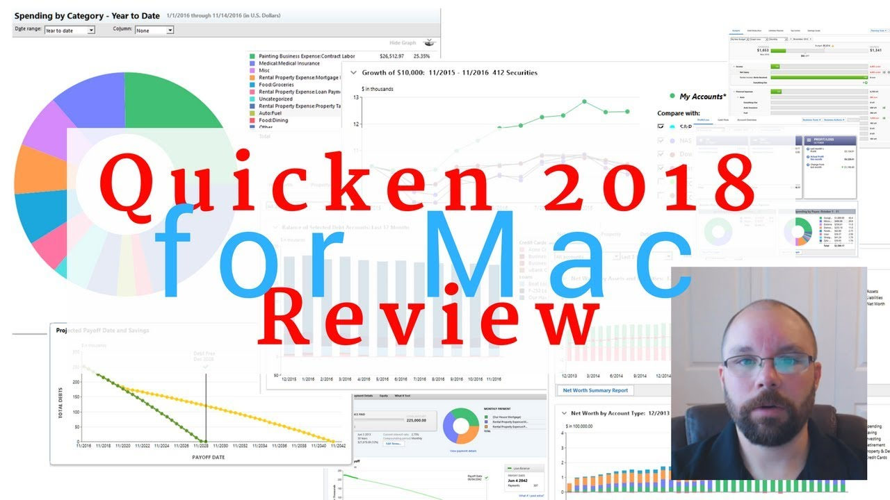 Quicken 2018-2019 for Mac Review - Starter, Deluxe, and Premier