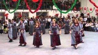Érd, 2010. 02. 28. NEM SEMMI! Tanárok farsangi tánca egy Általános Iskolában. :-) (bál)