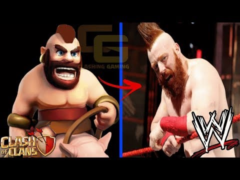 Clash Of Clans Real Life WWE - Most Epic Funny Comparison