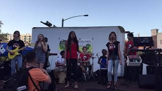 OsFest  2018 - Music Compound Band - Three Little Birds by Bob Marley
