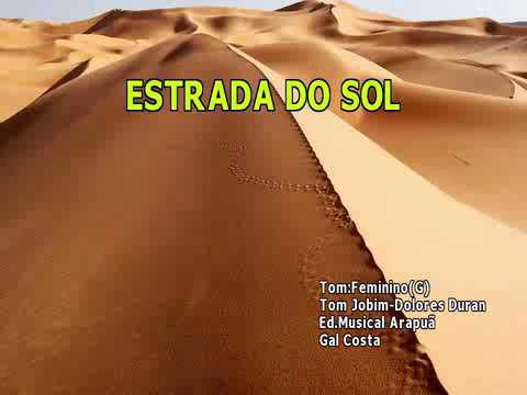 Gal Costa - Estrada Do Sol Karaokê