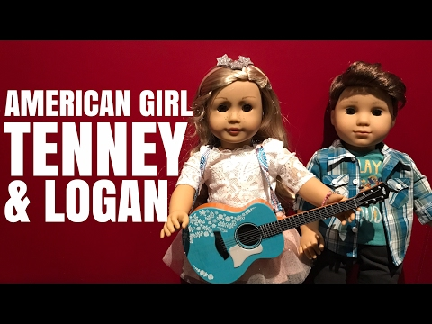 American Girl Tenney & Logan Unboxing