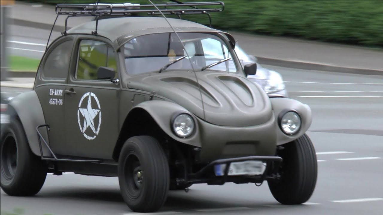 List Of Cars >> Cool BAJA BUG spezieller VW Käfer - Special Volkswagen Beetle on the road (Wuppertal) - YouTube