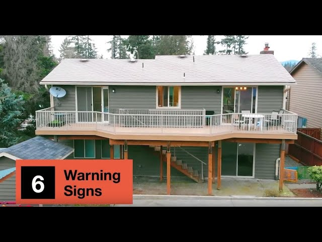 6 Warning Signs of an Unsafe Deck