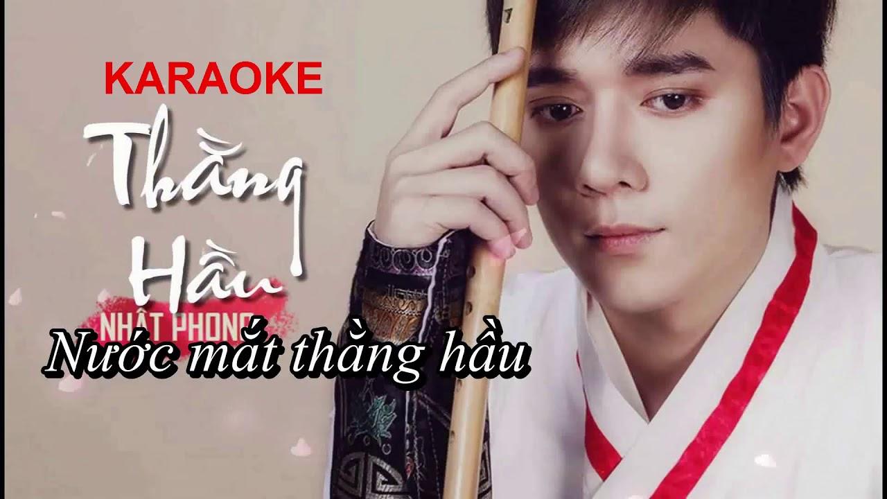 Karaoke Thằng Hầu – Nhật Phong | Tone Nữ Beat chuẩn