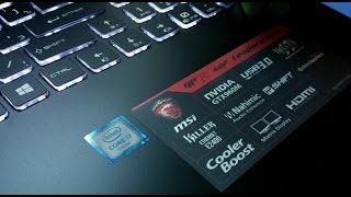 Компанія MSI GP72 6QF леопарда ПРО з i7 6700HQ вийшов/Нвидиа графікою GTX960M Ігровий ноутбук 2016 розпакування та перший погляд у 4K