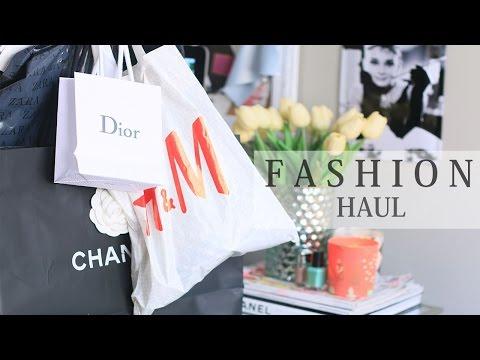 Fashion Haul | مشتريات الفاشن : زارا ، اتش اند ام ، شانيل