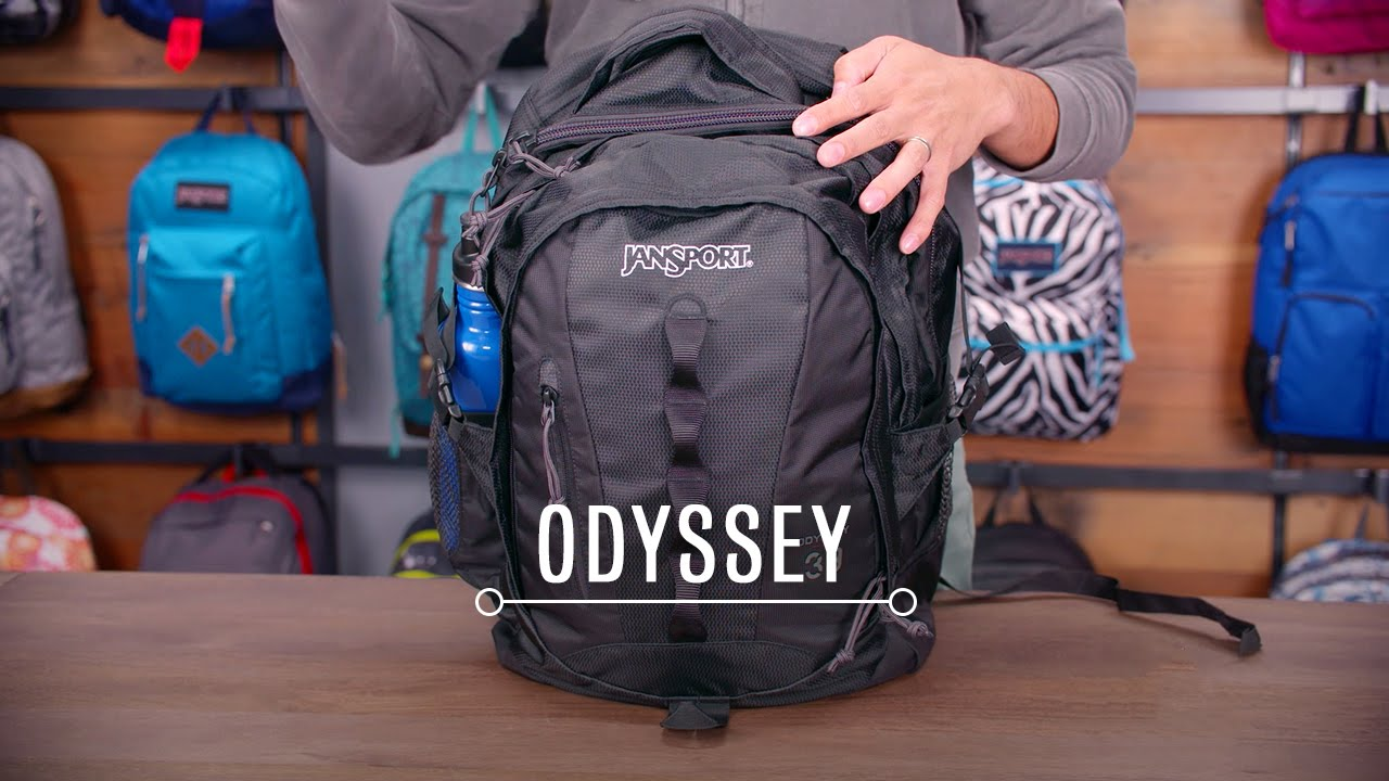 JanSport Pack Review: Odyssey - YouTube