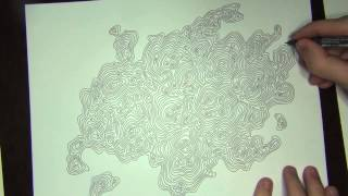 Topography Doodle...