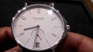 Nomos Glashutte Ahoi Datum Review