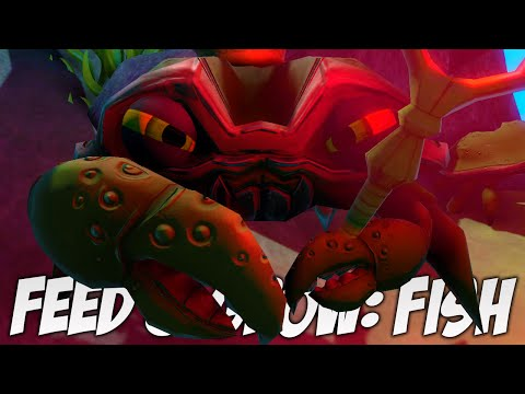 Feed And Grow ★ HOW TO KILL THE BLUE CRAB KING AND STEAL HIS SCEPTRE | Feed And Grow Funny Moments