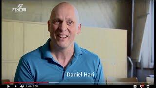 Porträt von Daniel Hari im FENSTER ZUM SONNTAG im SRF - für Hochdeutsch Untertitel wählen