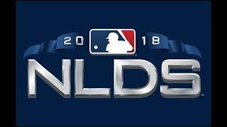 MLB 18 the show NLDS Game 2 Braves VS Dodgers