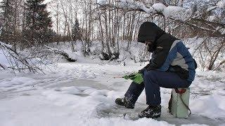Небольшая вылазка на зимнюю рыбалку #220