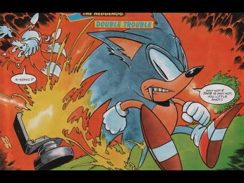 Sonic The Comic Issue 13 Youtube