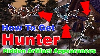HOW TO GET HUNTER HIDDEN ARTIFACT APPEARANCES│World of Warcraft