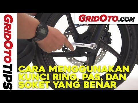 Cara Menggunakan Kunci Ring, Pas, Dan Kunci Soket Yang Benar I How To I GridOto Tips