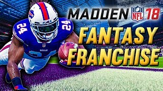 FANTASY DRAFT! NEW BILLS TEAM | Madden NFL 18 Fantasy Draft Franchise Ep.1