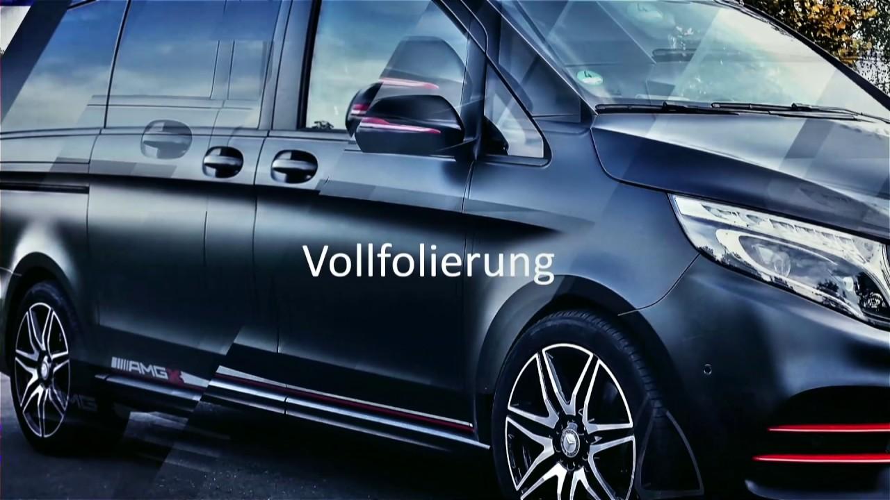 Mercedes Benz Sprinter >> CAR WRAPPING - Mercedes Benz AMG V-Klasse - YouTube
