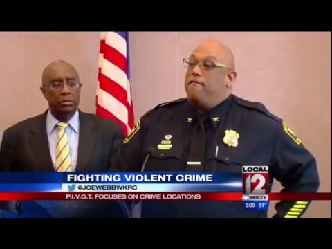 New Violent Crime Push All About Location, Location, Location