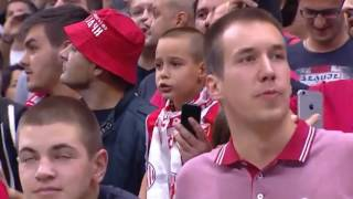 Red Star Fans Brings The House Down, Tomić Forgets to Shake Hands Watching Them