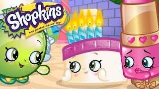 SHOPKINS Cartoon - BLUSHING WEDDING CAKE | Cartoons For Children