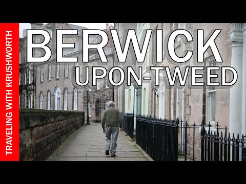 Visit Berwick-Upon-Tweed England (Great Britain) tourism/tour guide video | Holy Island Lindisfarne