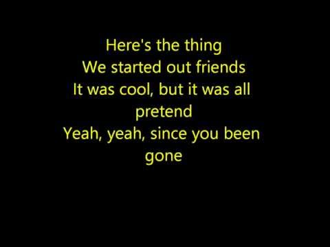 Pitch Perfect -  Since You Been Gone Lyrics