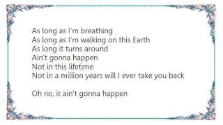 Katie Armiger - Aint Gonna Happen Lyrics YouTube Videos