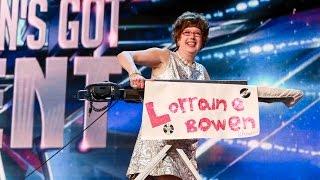 Britain&#39s Got Talent 2015: Meet Lorraine Bowen!