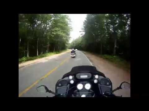 Riding Kancamangus Highway 112 New Hampshire 2015