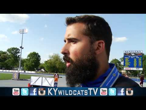 Kentucky Wildcats TV: Coach Floreal and Andrew Evans on SEC Championships Day 3