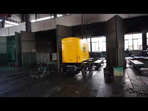 Portable Power Generation, Mobile Generator, Movable Generator Set -Starlight Power