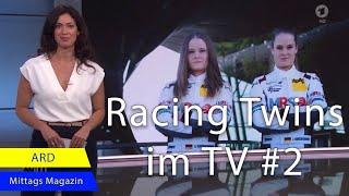 Motorsport - die Kreutzpointner-Zwillinge I Racing Twins in der ARD I ADAC GT4 GERMANY