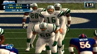 NFL 2K2 Football PS2 emu- PCSX2 HD 60fps gameplay (SEGA, 2001)