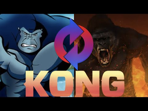 Kong: The Animated Series (Skull Island Style!)