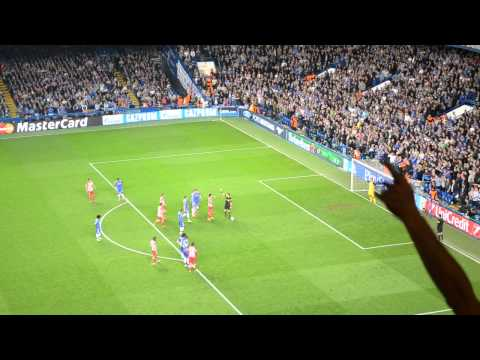 Diego Costa penalty Chelsea- Atletico Champions League 1/2
