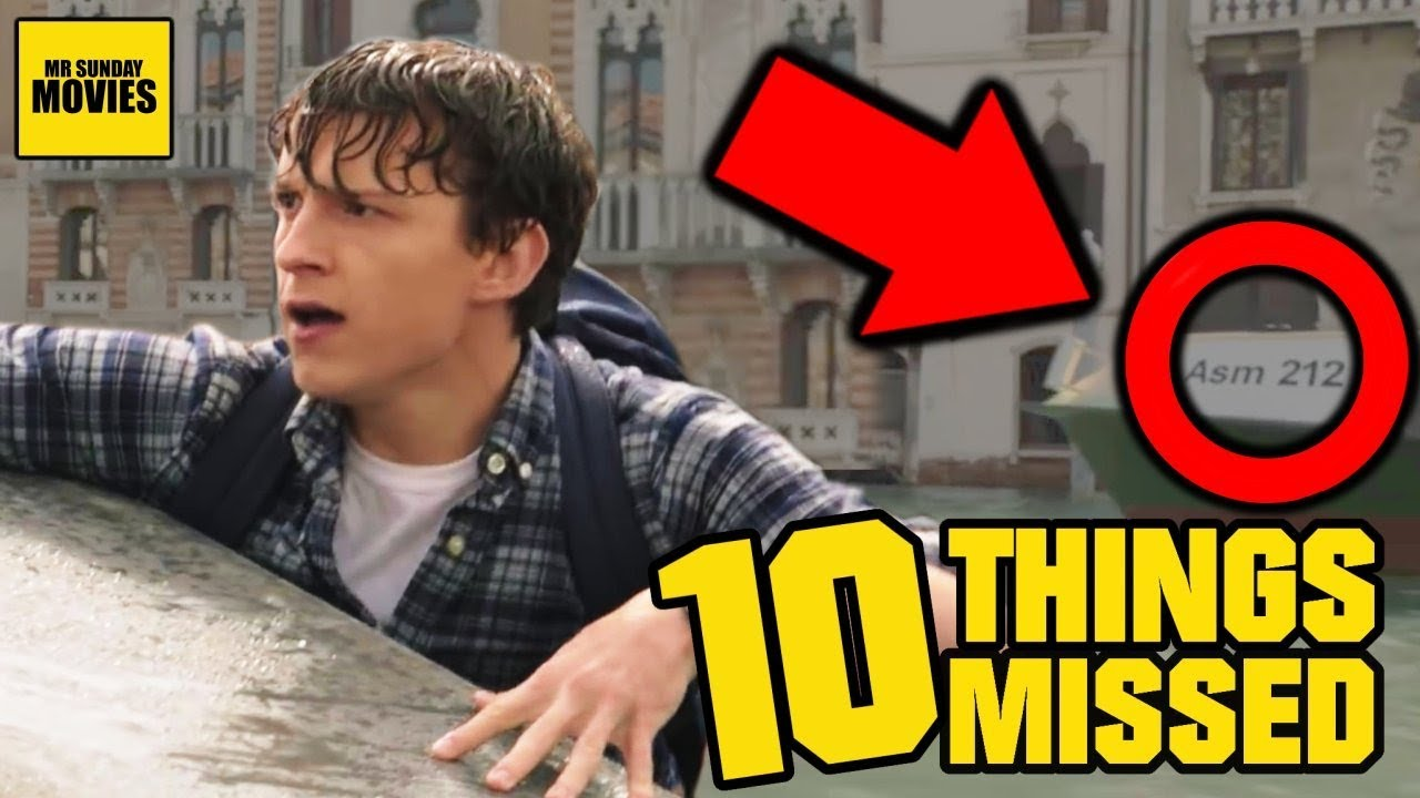 Spider Man Far From Home Trailer Easter Eggs Villains Explained