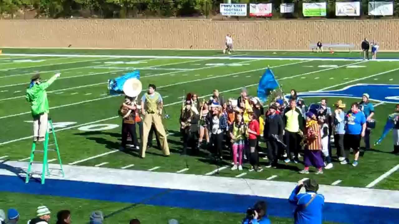 Peru State College >> Peru State College Pep Band Homecoming Halftime Show 10 4 14