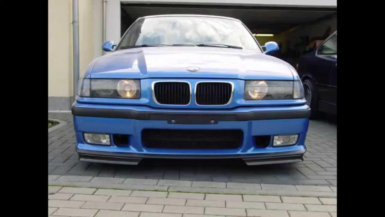 BMW e36 M3 3,2 Estoril blue Darstellung - YouTube