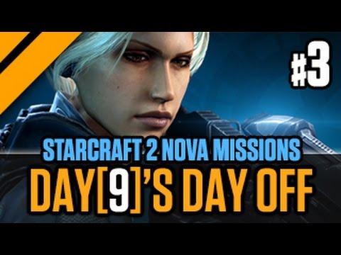 Day[9]'s Day Off StarCraft 2 Nova Missions P3