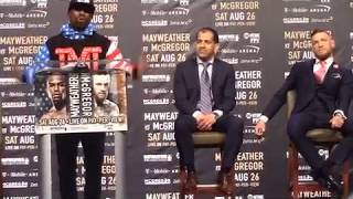 Floyd Mayweathe Goes Old School And Calls Conor McGregor A B***