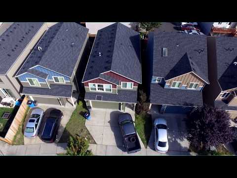 Drone fly over TEST DJI P3S
