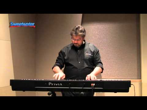 casio privia px 3 keyboard demo with daniel fisher youtube. Black Bedroom Furniture Sets. Home Design Ideas