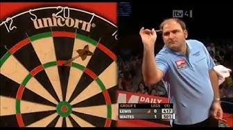 Scott Waites hits three consecutive Ton+ finishes - Grand Slam Of Darts 2010
