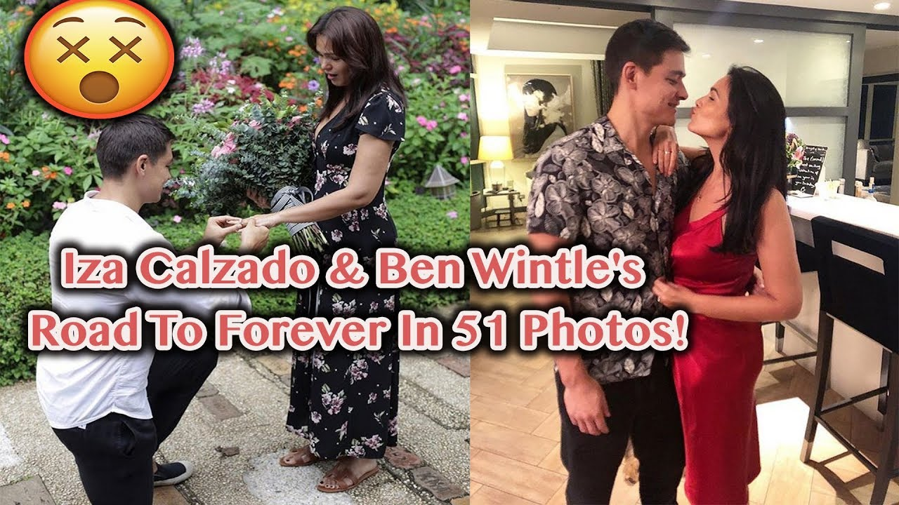 f73802ce Iza Calzado & Ben Wintle's Road To Forever In 51 Photos! - YouTube