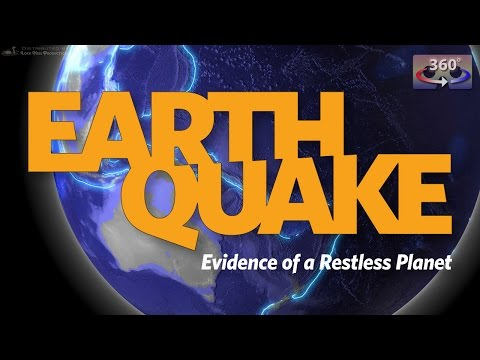 Earthquake: Evidence of a Restless Planet - fulldome trailer 360°