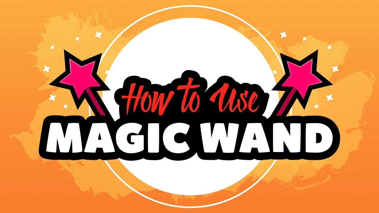 How to use the Magic Wand tool in Adobe Illustrator CC - YouTube