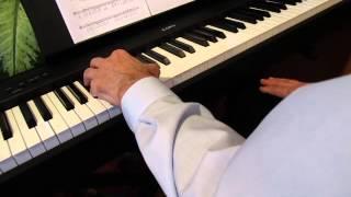 Klavir, akordi, lijeva ruka 01