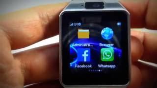NUEVO Smartwatch DZ09 2.1 con Whatsapp, facebook y Twitter